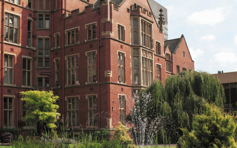 Studere i England - University of Sheffield - Firth Court