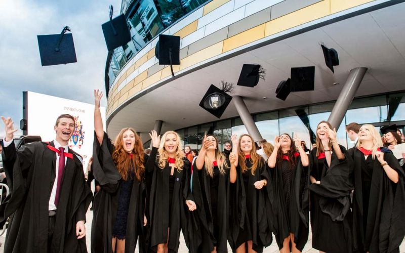 University of Derby graduation - Across the Pond