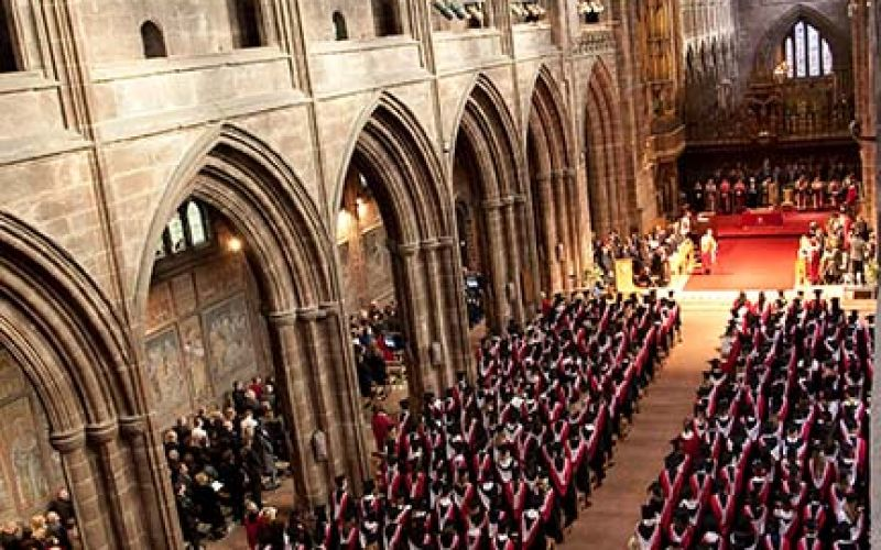University of Chester graduation