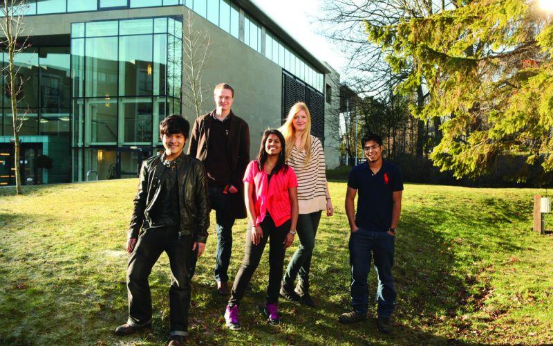 Studere i England - University of Sheffield - studenter