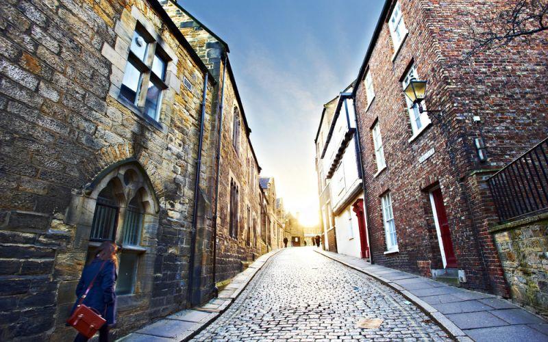Studere i Durham, England