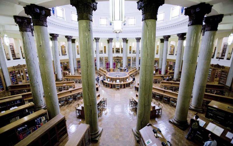 Studere i England - Uiversity of Leeds - Brotherton Library