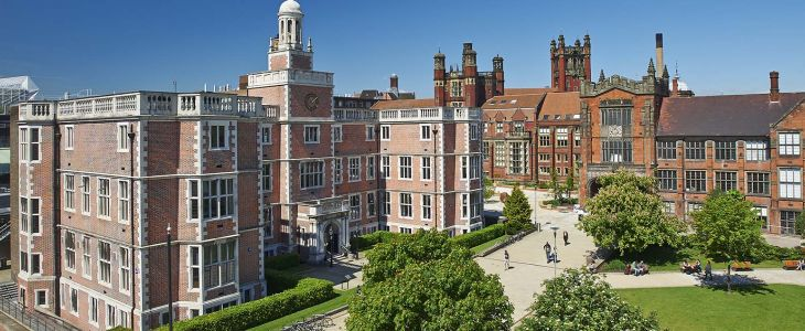 Studere ved Newcastle University i England