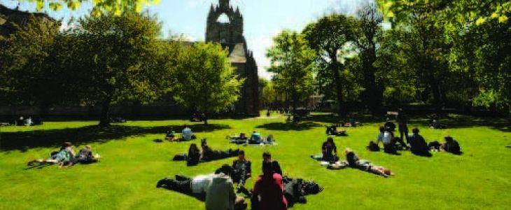 Studere i Aberdeen