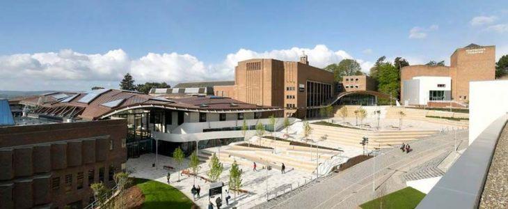 Studere ved University of Exeter i England