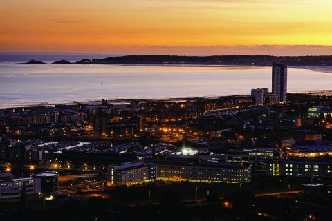 Studere i Wales - Swansea Bay Sunset