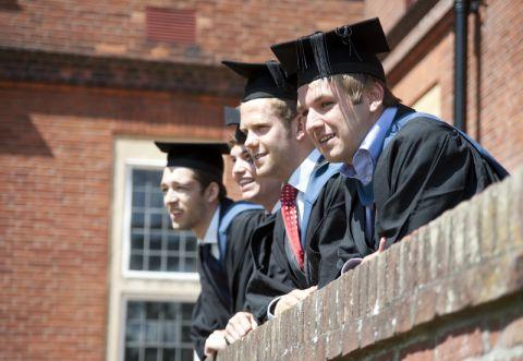 Studere i England - University of Reading - graduation