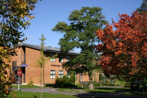 Studere i England - University of Reading - Archaeology Building