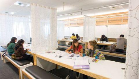 Studere i London - Royal Holloway University - bibliotek