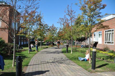 Studere i England - University of Worcester - campus