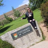 Student ved University of Exeter i England