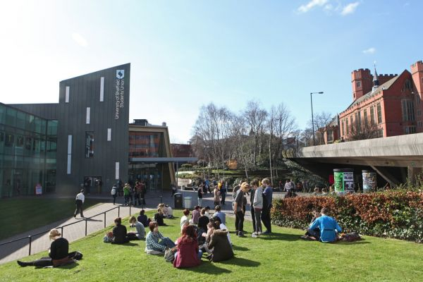 Studere i England - University of Sheffield - Students Union