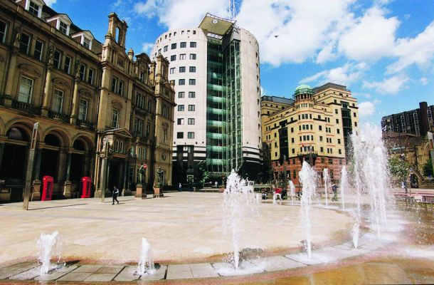 Studere i England - Uiversity of Leeds - City Square