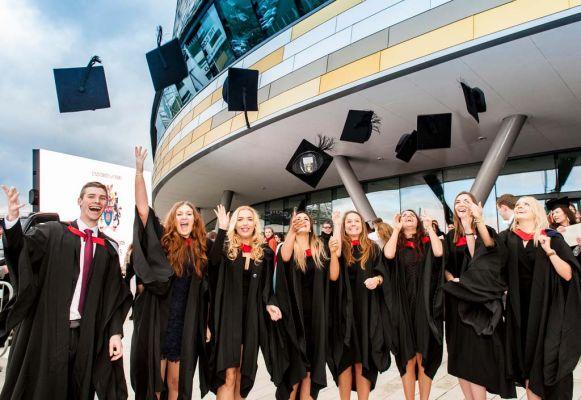 University of Derby graduation - Across the Pond