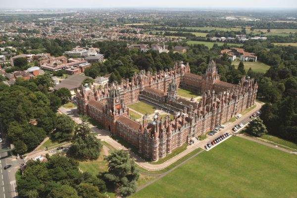 Studere i London - Royal Holloway University - campus