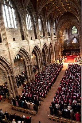 University of Chester graduation