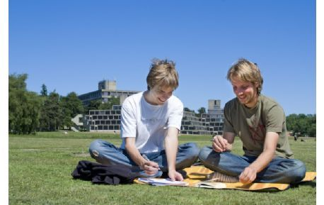 Studere ved University of East Anglia i England