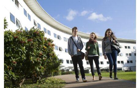 Studere ved University of East Anglia i England
