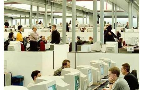 Studere i Skottland - Edinburgh Napier University - bibliotek