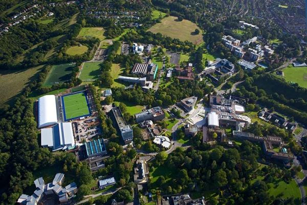 Studere ved University of Exeter i England