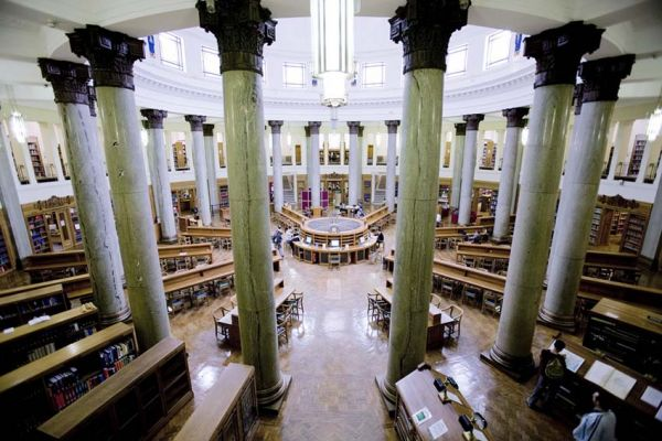 Studere i England - Uiversity of Leeds - Brotherton Library