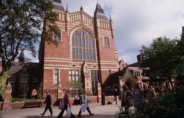 Studere i England - Uiversity of Leeds - The Great Hall