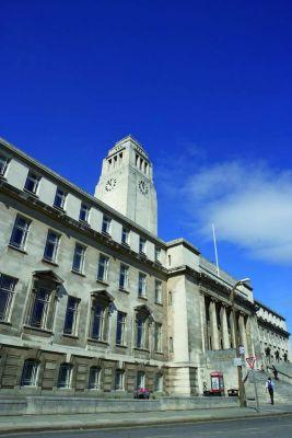 Studere i England - Uiversity of Leeds - Parkinson Building
