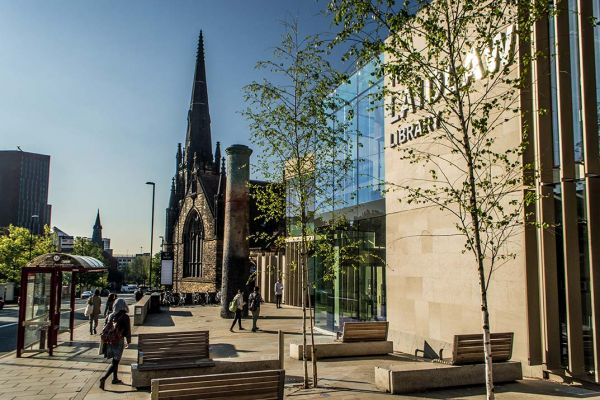 Studere i England - Uiversity of Leeds -Laidlaw library