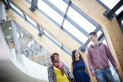 Studenter ved University of Huddersfield