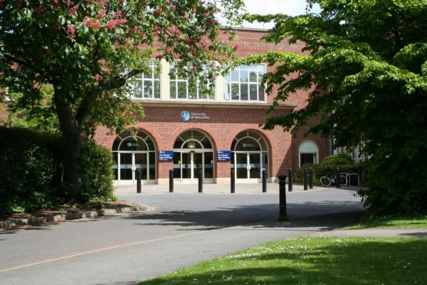 Studere i England - University of Worcester - campus