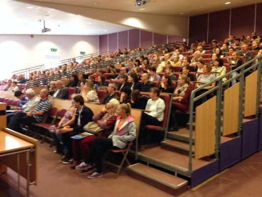 Studere i England - Writtle University College - forelesning